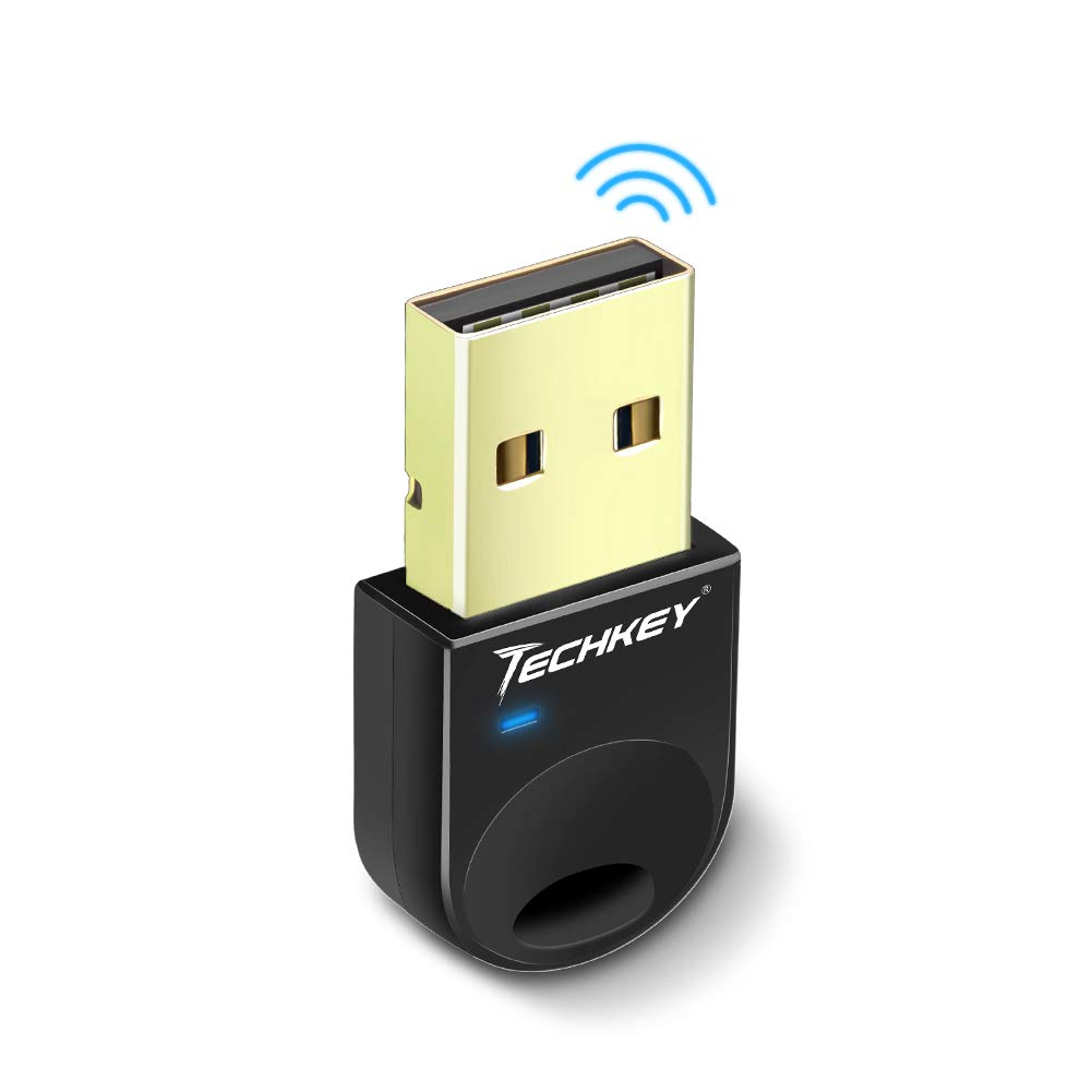 Techkey Bluetooth Adapter Computer Keyboard