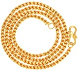 AanyaCentric Gold Plated 28 inches Long Necklace Fashion Fancy Jewellery Collection Neck Chain