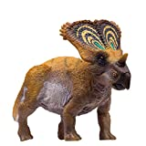 PNSO Prehistoric Animals Toys Small Model Series (044 Chasmosaurus Brown)