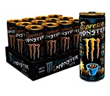 Monster Energy Espresso Monster Vanilla Cream, Espresso Energy Drink, 8.4 ounce (Pack of 12)