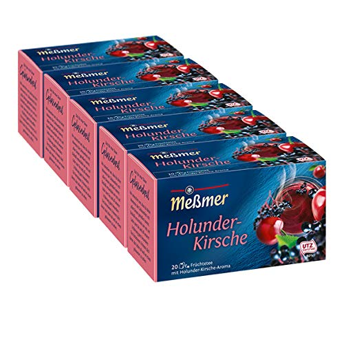 Meßmer Holunder-Kirsche 5er Pack