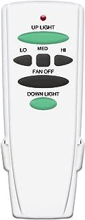 Replacement of Hampton Bay Ceiling Fan Remote Control UC7078T With Up Down Light, L3H2010FANHD FAN-HD FAN-HD6, White