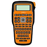 UBICON Handheld Multi Function Tape Label Maker Machine for Organizing Home and Office | Compatible with Many Label Sizes and Colors | (Orange w/Power Cord)