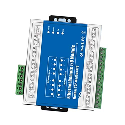 ZJN-JN Uscita Ethernet TCP 8 canali Acquisizione Dati IO Module, M160T, for Home Automation Accessori per stampanti Accessori PC