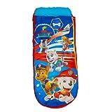 Paw Patrol La Patrulla Canina-ReadyBed júnior-Cama Hinchable y Saco de Dormir Infantil Dos en uno, Red/Blue, Einzel