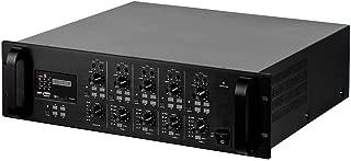 Monoprice Commercial Audio 4x120W 4ch/4Zone Mixer Matrix 100/70V w/Digital Media Player (No Logo)