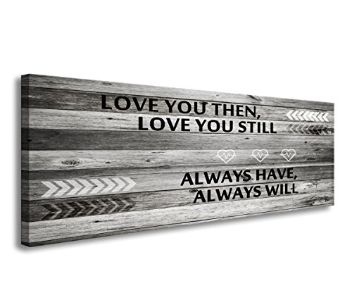 A71841 Wall Art Love You Still Large Wall Art Canvas (Ready to Hang) for...