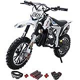 X-PRO Bolt 50cc Dirt Bike Gas Dirt Bike Kids Dirt Bikes Pit Bikes Youth Dirt Pitbike 50cc Mini Dirt...