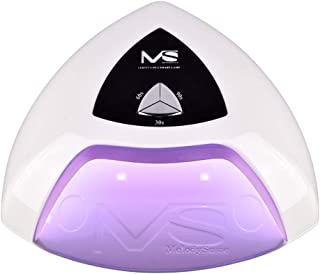 MelodySusie UV LED Nail Lamp, with 3 Timer Setting, Professional Nail Dryer for Gel Nail Polish Gel Nail Starter Kit for Fingernail and Toenail Curing, White
