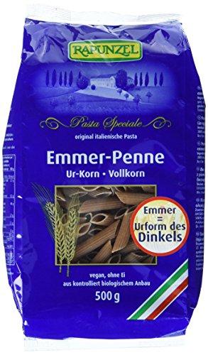 Rapunzel Emmer-Penne Vollkorn, 4er Pack (4 x 500 g)