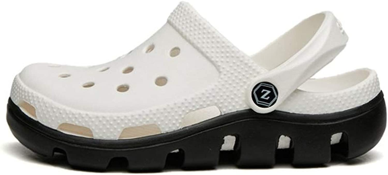 Oushizhaoming Summer Ladies Nurse Wooden shoes, Non-Slip Breathable Garden shoes