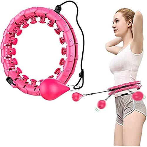 Funnygals 2 in 1 Fitness und Massage Hula Hoop Reifen Erwachsene Kinder,sportreifen mit Gewicht,Fitness Hula Hoop Reifen Erwachsene abnehmen