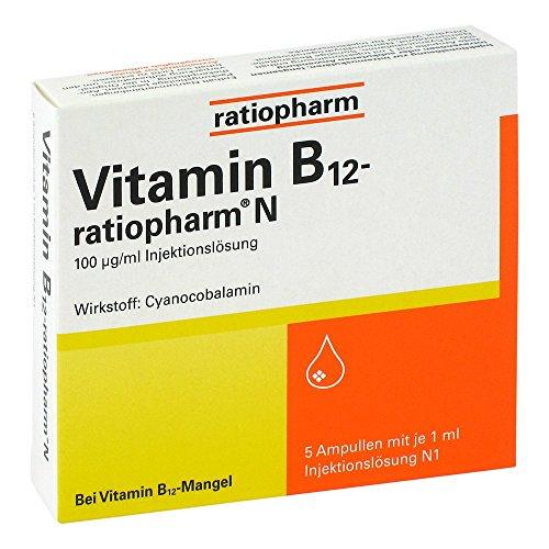 Vitamin B12 ratiopharm N 5X1 ml