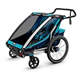 Product Image of the Thule Chariot Cross Multisport Trailer & Stroller, blue, 2 child