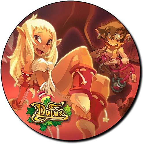 Dofus A Tapis De Souris Ronde Round Mousepad PC