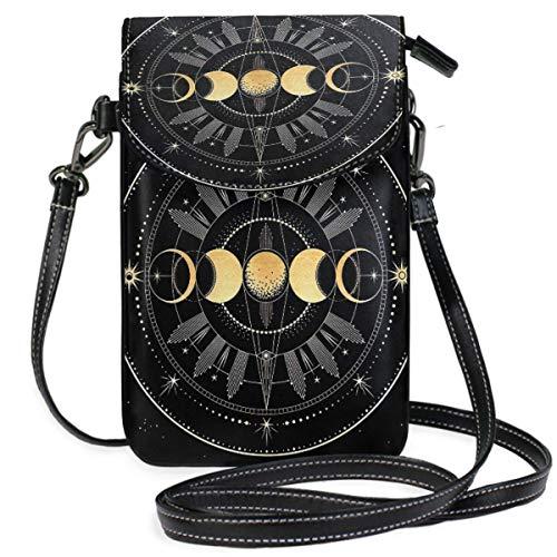 XCNGG bolso del teléfono Moon Cell Phone Purse Wallet for Women Girl Small Crossbody Purse Bags
