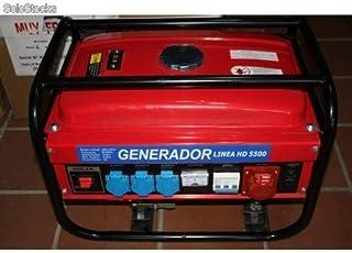 Generador monofásico y trifásico 5500W