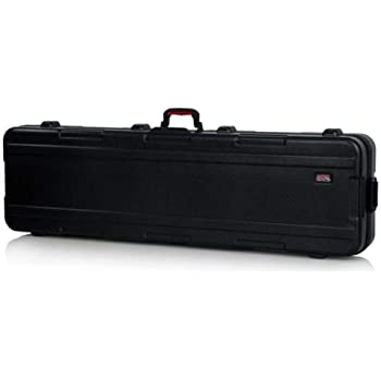 Gator Cases Molded Flight Case for Slim Extra Long 88-Note Keyboards with TSA Approved Locking Latches and Recessed Wheels; (GTSA-KEY88SLXL), Slim Long 88-Note