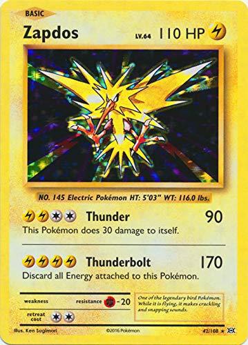 Pokemon - Zapdos (42/108) - XY Evolutions - Holo