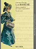 La Boheme: Vocal Score (Ricordi Opera Vocal Score)