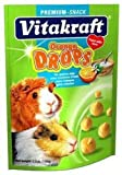 Vitakraft Guinea Pig Orange Drops and 5.3-ounce Pouch by Vitakraft...