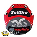 Aquaglide Spitfire 60 Package - Aquaglide Tube mit Tubeleine & 12 Volt Lufptumpe Package /...