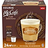 McCafe Cafe Selections Caramel Macchiato Two-Step K Cup Coffee Pods (24 Count Box)