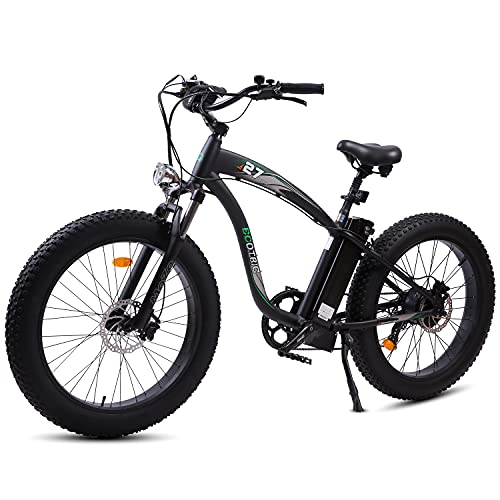 ECOTRIC The New Model Powerful EBike Fat Tire Electric Bicycle...