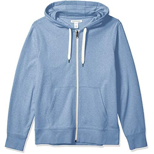 51s9IlqGDsL. SS500  - Amazon Essentials Men's Lightweight French Terry Full-Zip Hooded Sweatshirt
