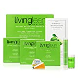 Living Lean Detox Cleanse Immunity Kit for 15 Days - Natural Organic - Alkaline Your Body for Sustainable Weight Loss & Digestion Support-Colon, Kidney, Liver & Bowel Cleanser - High Strength