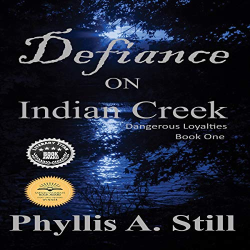Defiance on Indian Creek Audiobook By Phyllis A. Still cover art