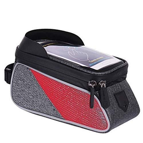 GHJU Bike Saddle Bag Bike Seat Bag- Pocket Pack Riding Cycling SuppliesLuggage Bag Carrier for Phone Cash Mountain Road Storage (Color : Black, Size : One Size),Size:One Size,Colour:Black qingqiao