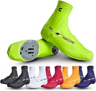 Vélo Chaussure Couvre Couverture de chaussures de vélo Coupe-vent de bicyclette recouvre la pluie Botte de protection Protège-pieds Guêtres Pro Couvre-chaussures de vélo réfléchissants imperméables