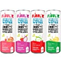 BUBBL'R Antioxidant Sparkling Water Variety Pack - 24 Pack (twisted elix'r, pitaya berry nect'r, cherry guava blend'r, and lemon lime twist'r) 12 fl oz