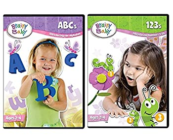 Brainy Baby ABCs DVD and 123s DVD Deluxe Edition