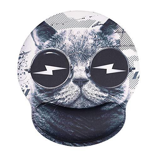 AOKSUNOVA Ergonomische Mauspad mit Handgelenkauflage Handballenauflage Anti-Sehnenscheidenprobleme für Computer und Laptop