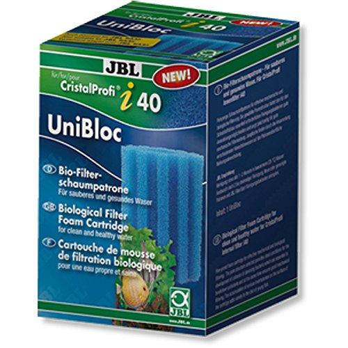 JBL- UniBloc CristalProfi i40/TekAir blau, grob Ersatz-Schaumstoffpatrone CristalProfi i40 und TekAir