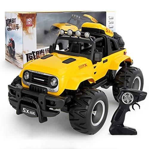 Darenbp Juguete RC para niños RC coche grande estupendo control remoto de coches Vehículo 4WD SUV todo terreno del vehículo de la suciedad del control de radio de coche de juguete de bicicleta eléctri