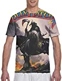 Photo de Men's T Shirts Molly Hatchet Personality Men Tee Shirt Black,Black,3X-Large