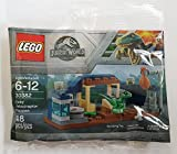 LEGO Jurassic World 30382 Baby Velociraptor - Bolsa de plástico para bebé (bolsa)