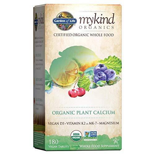 Garden of Life mykind Organic Plant Calcium - Vegan Whole Food...