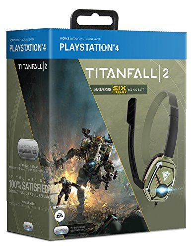 PDP Titanfall 2 Official Marauder Six Four Communicator for PS4 [PlayStation 4, Windows 7, Windows 8, , ]