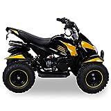 Miniquad Kinder Cobra ATV gelb / schwarz - 7