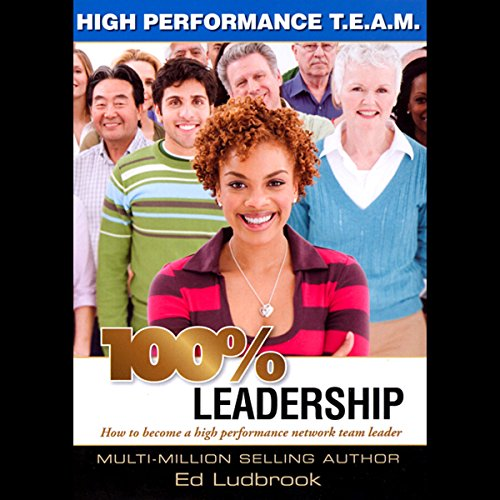 100% Leadership audiobook cover art