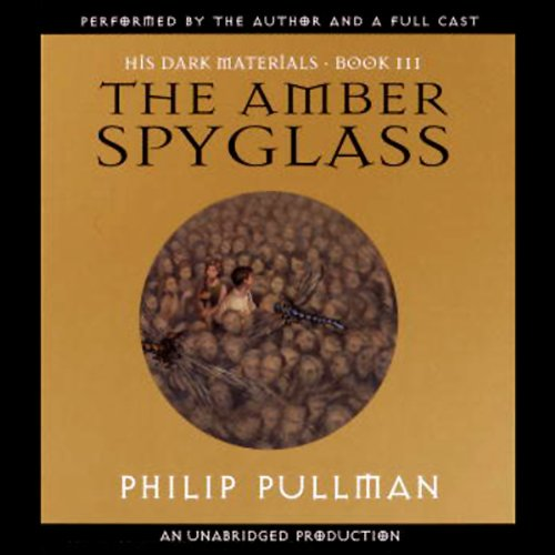 The Amber Spyglass audiobook cover art