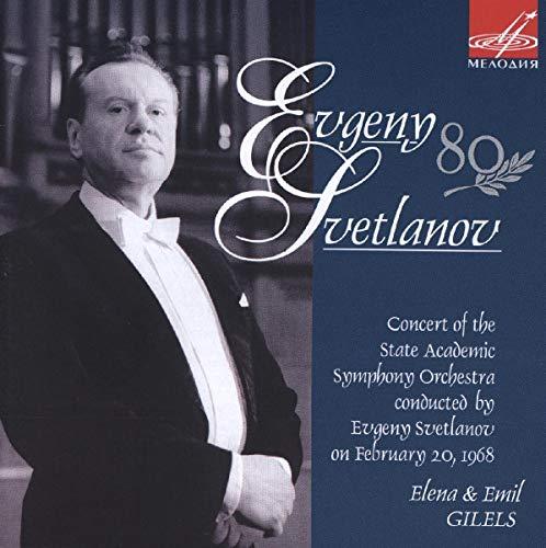 Evgeny Svetlanov / Tchaikovski concertos pour piano n°1 & 3