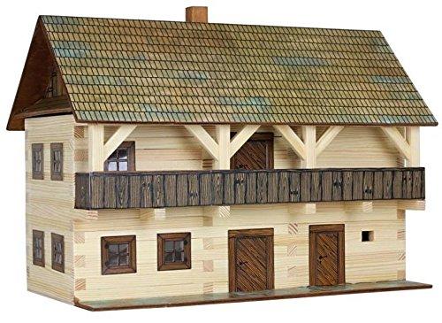 Walachia 8594036430051 Vogtei Fachwerkhaus Holz Modellbauset Modellbahn Spur 1/ LGB 1:32