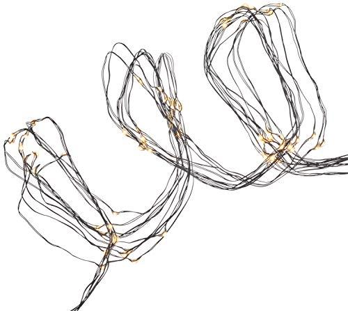Best Season Dew Drops Bouquet de lumière LED en métal Noir