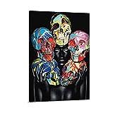 Damien Hirst X Rankin Poster, dekoratives Gemälde,