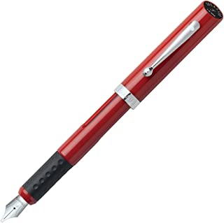Sheaffer Viewpoint Calligraphy Pen, Red, Carded with (2) ink cartridges: Fine (73400)